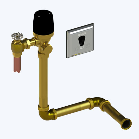 "COBALT Connect™ Concealed Cloud Connected Flush Valve for Water Closets with Concealed Rear Spud, Offset Actuator, and 14.5"" Rough-In"