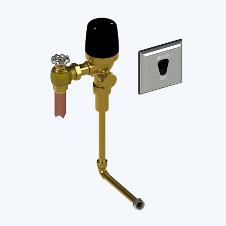 "COBALT Connect™ Concealed Cloud Connected Flush Valve for Urinals with Concealed 3/4"" Rear Spud and 13.5"" Rough-In"