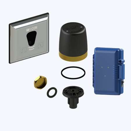 COBALT Connect™ Retrofit Kit for Exposed Manual Urinal and Water Closet Flush Valves